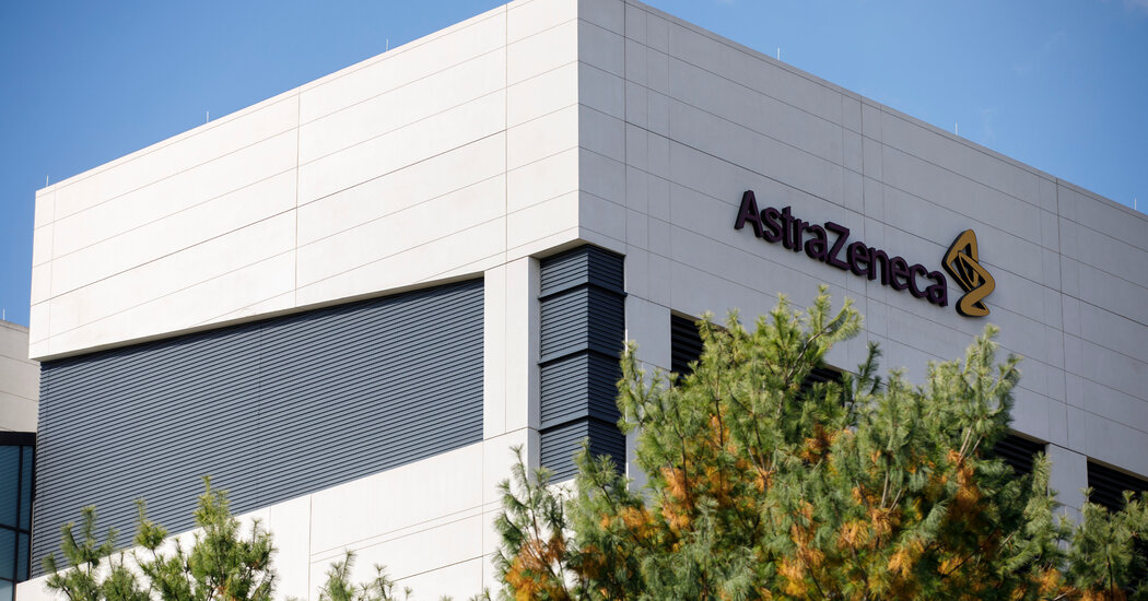 AstraZeneca asks the F.D.A. to authorize an antibody treatment to prevent Covid-19.