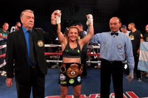 Bopp will defend her WBA super flyweight belt once again
