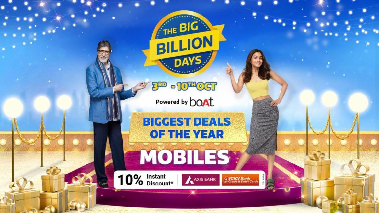 Crazy Deals Calling – Top phones shopfront this Big Billion Days- 3rd Oct – 10th Oct 2021