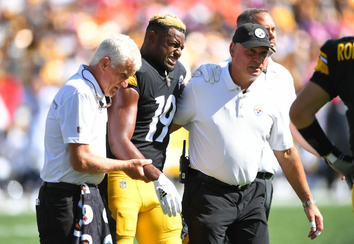 How can the Steelers adjust after losing JuJu Smith-Schuster?