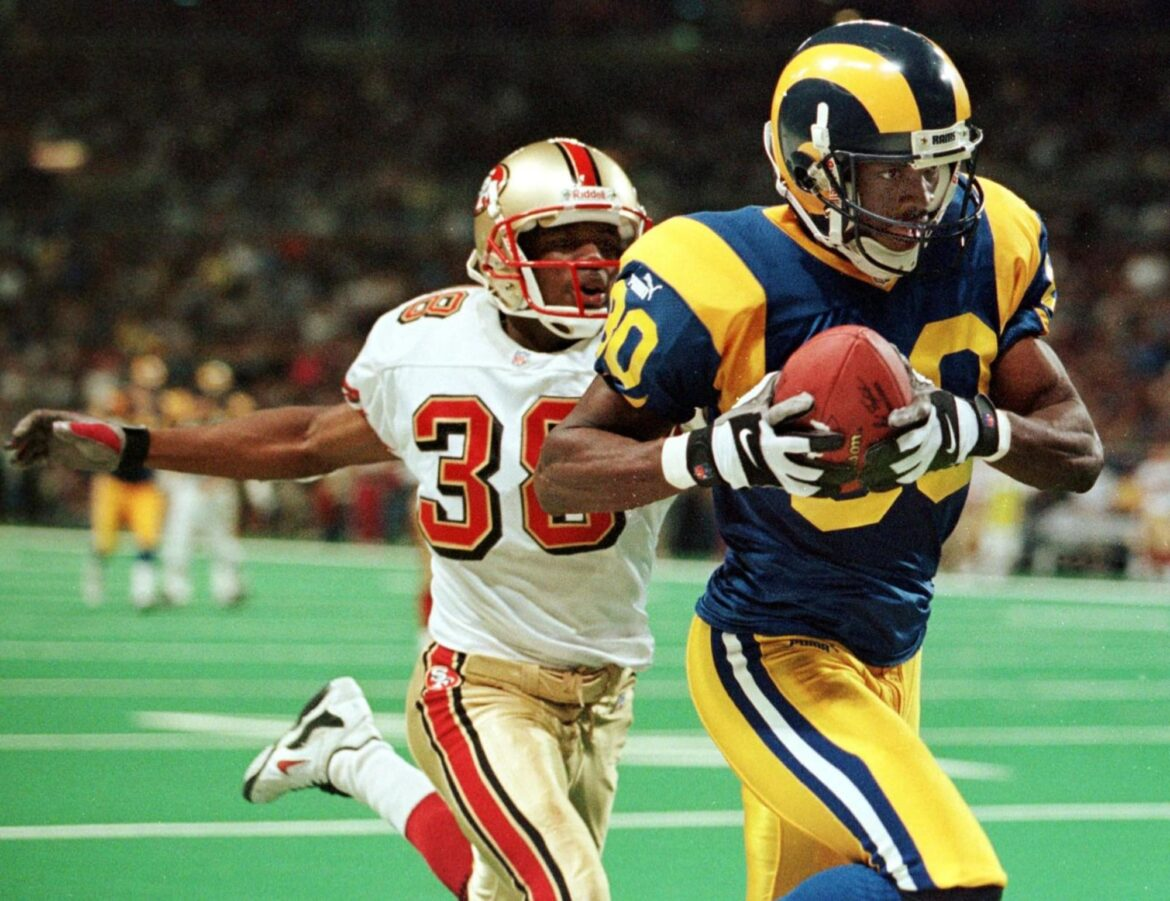 Isaac Bruce is interested in helping bring NFL back to St. Louis
