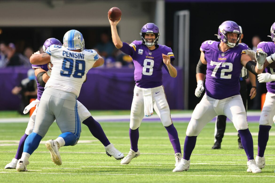 Mike Zimmer reveals why he and Kirk Cousins got in a sideline shoving match
