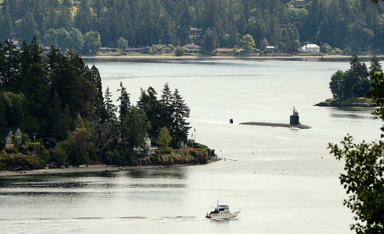 Sailors hurt after Navy submarine collision
