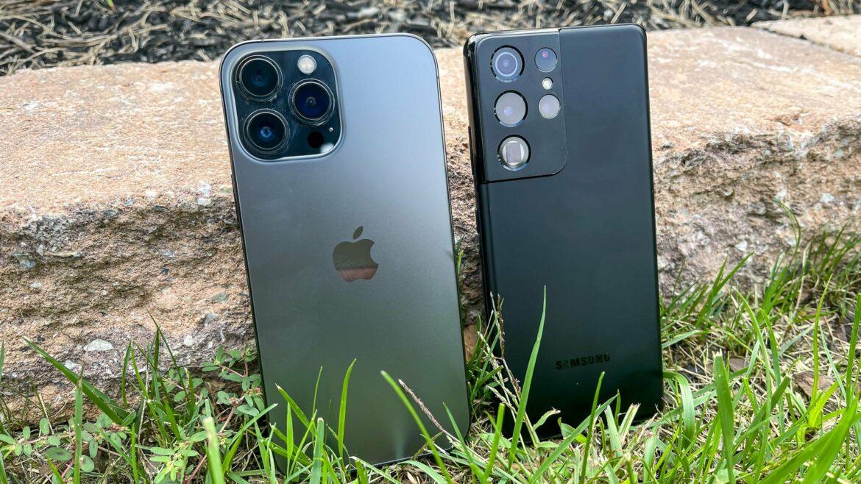 Samsung Galaxy S21 Ultra vs Apple iPhone 13 Pro Max