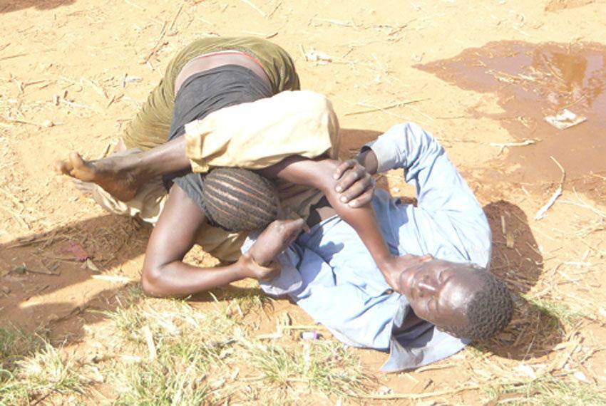 Sheema: Men rise an alarm over violent wives